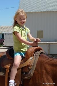Lauren Patoile (at age 3)